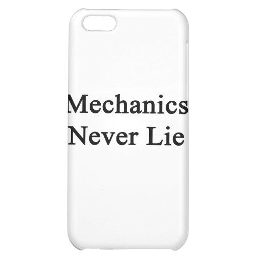 Mechanics Never Lie iPhone 5C Cover