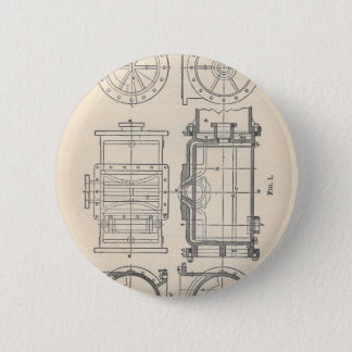 Mechanic's Pocletbook 2 Inch Round Button