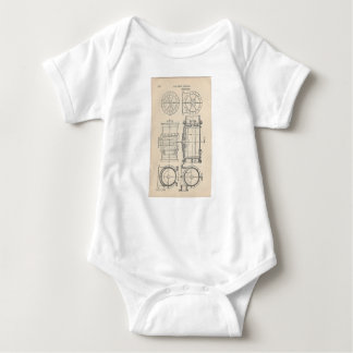 Mechanic's Pocletbook Baby Bodysuit