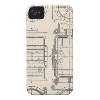 Mechanic's Pocletbook iPhone 4 Cases