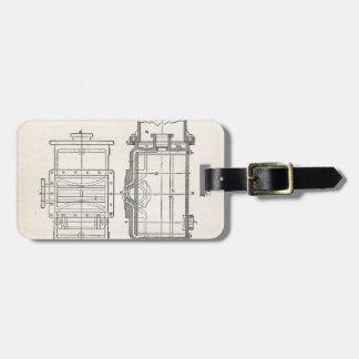 Mechanic's Pocletbook Luggage Tag
