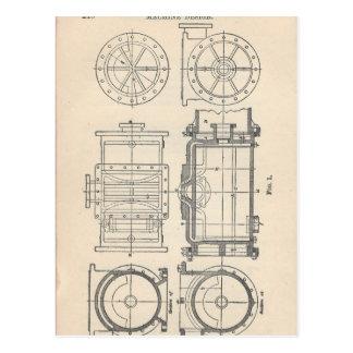 Mechanic's Pocletbook Postcard