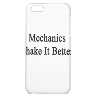 Mechanics Shake It Better Cover For iPhone 5C
