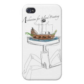 Mechanism for Inland Pirating iPhone 4 Cases