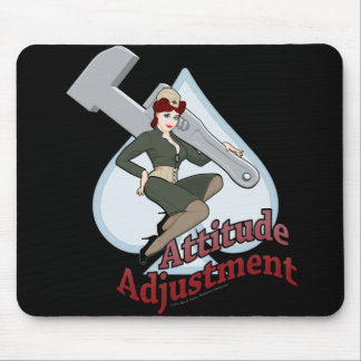 MechCorps' Attitude Adjustment Mouse Pad