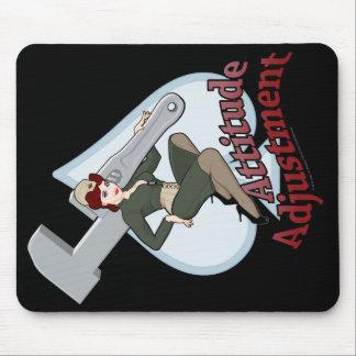 MechCorps' Attitude Adjustment Mouse Pad -portrait
