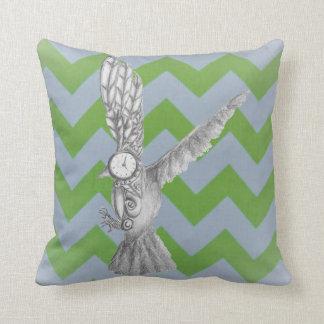 Mecho Bird Throw Pillow