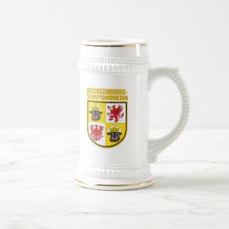 Mecklenburg-Vorpommern COA Beer Stein