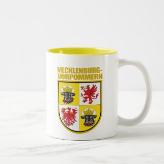 Mecklenburg-Vorpommern COA Two-Tone Coffee Mug