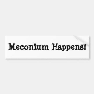 Meconium Happens! Bumper Sticker