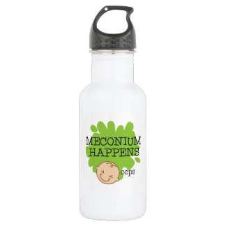 Meconium Happens Water Bottle