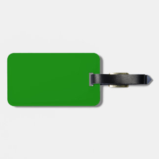 med green DIY custom background template Luggage Tag