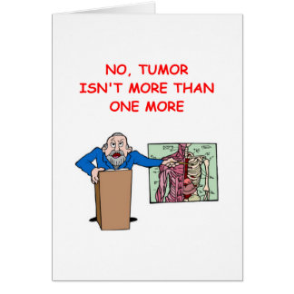 med school joke card