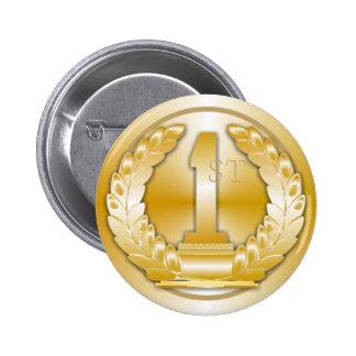 Médaille d or badge