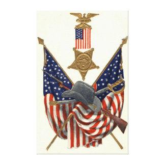 Médaille Eagle de guerre civile des syndicats de d Toiles Tendues Sur Châssis