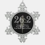 Médaille personnalisée de souvenir du marathonien  décoration de noël