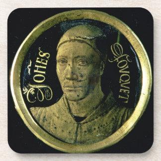 Médaillon d autoportrait c 1450 émail sur le cui sous-bocks