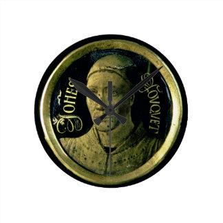 Médaillon d'autoportrait, c.1450 (émail sur le cui horloge ronde