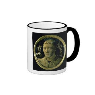 Médaillon d'autoportrait, c.1450 (émail sur le cui mug