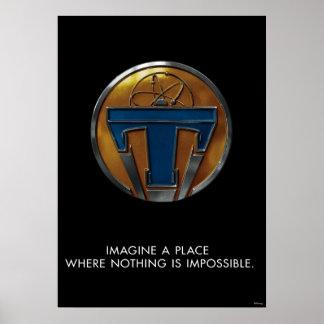 Médaillon de Tomorrowland Poster