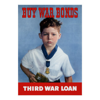 Medal Of Honor Child -- Buy War Bonds Poster