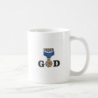 medal under god coffee mug