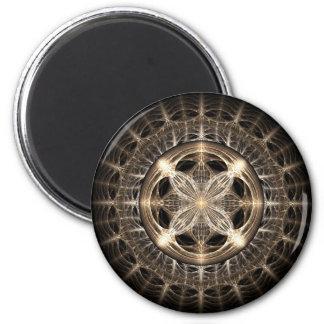 Medallion 2 Inch Round Magnet