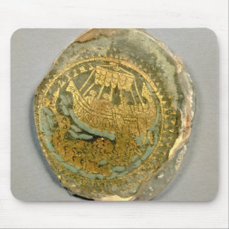 Medallion depicting Jonah and the whale, Roman, 4t Mouse Pad