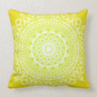 medallion designed throw throw pillow