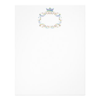 Medallion with Crown Royal Stationery Letterhead