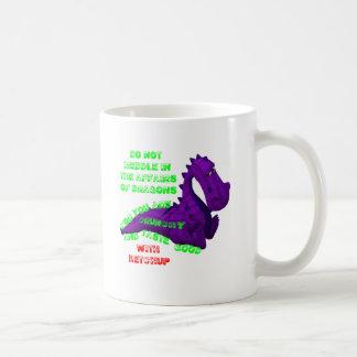Meddling In Dragon Affairs Coffee Mug