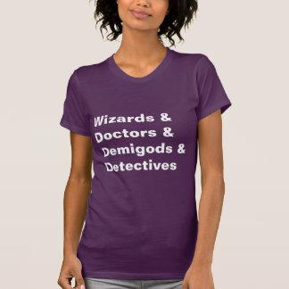 Médecins Demigods Detectives de magiciens de Tshirts