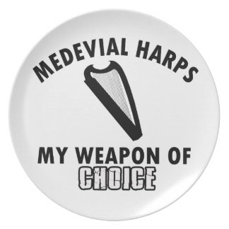 medevial Harps choice Plate