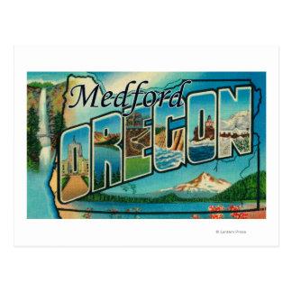 Medford, Oregon - Large Letter Scenes Postcard