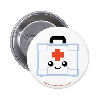 Medi Pals First Aid Kit 2 Inch Round Button