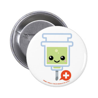 Medi Pals Needle 2 Inch Round Button