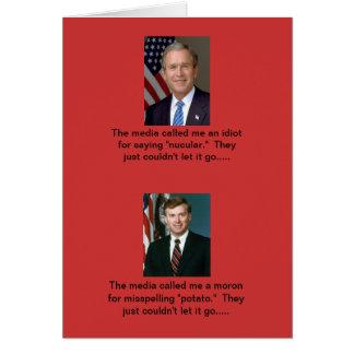 Media bias?  Naaa!!! Card