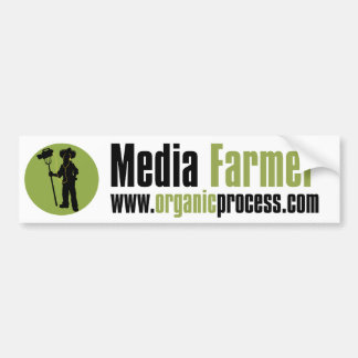 Media Farmer Bumper Sticker
