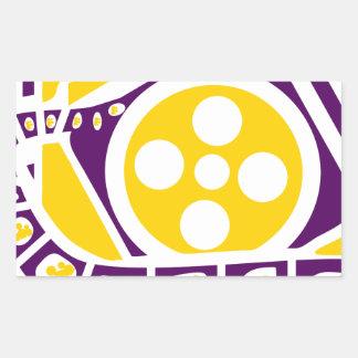 Media Film Reel Sticker