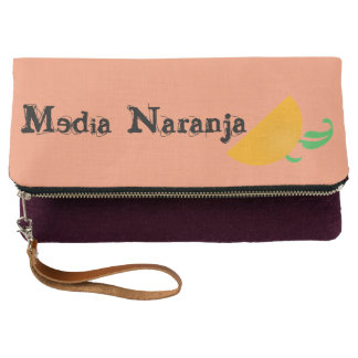MediaNaranja Fold-Over Clutch