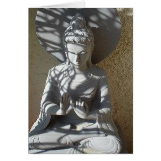 Mediating Buddha Spiritual Enlightenment Card