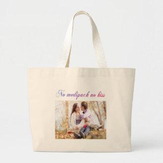 mediback humor large tote bag