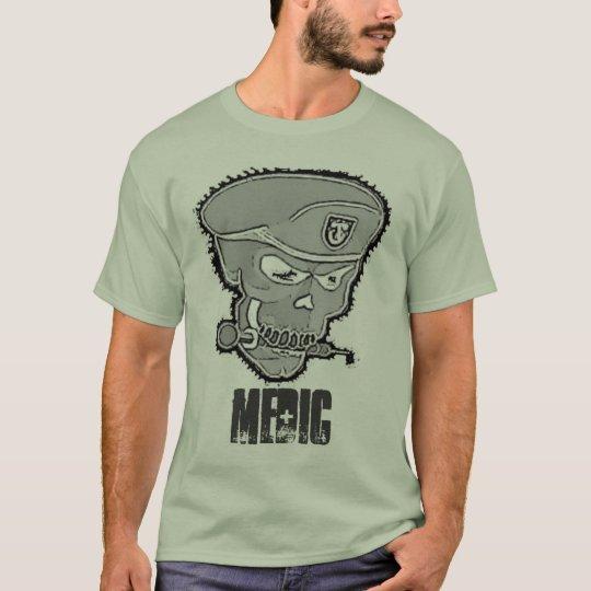 MEDIC Skull- shirt