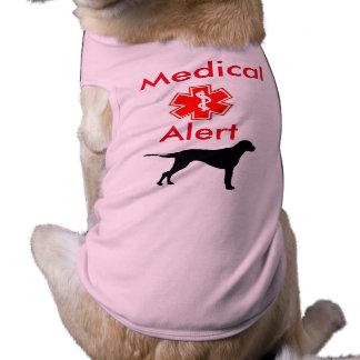 Medical Alert Dog T-Shirt for Dogs