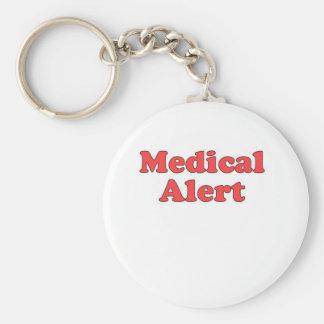Medical Alert Key Chain