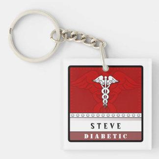 Medical Alert Keychain - Customized