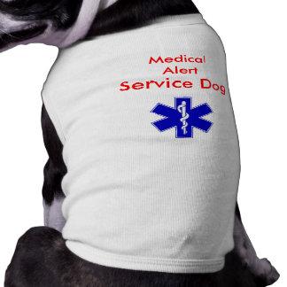 Medical Alert Service Dog Tank Shirt