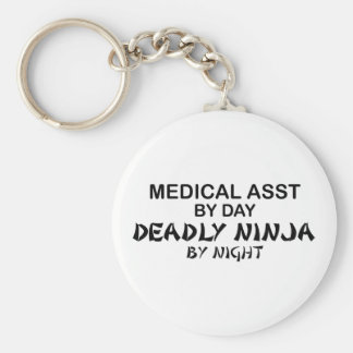 Medical Assistant Deadly Ninja Keychain