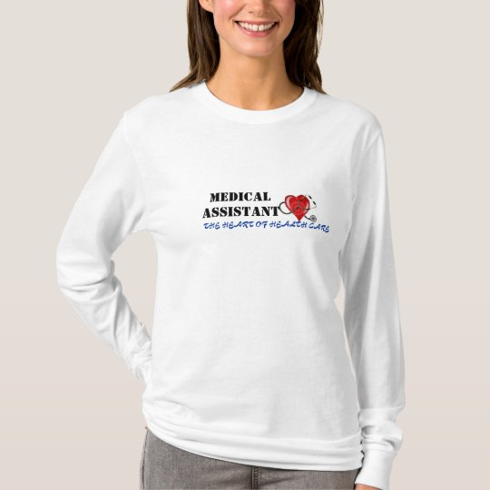 medical assistant HEART T-Shirt
