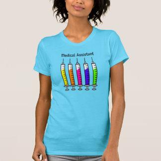 Medical Assistant T-Shirts Syringe Design
